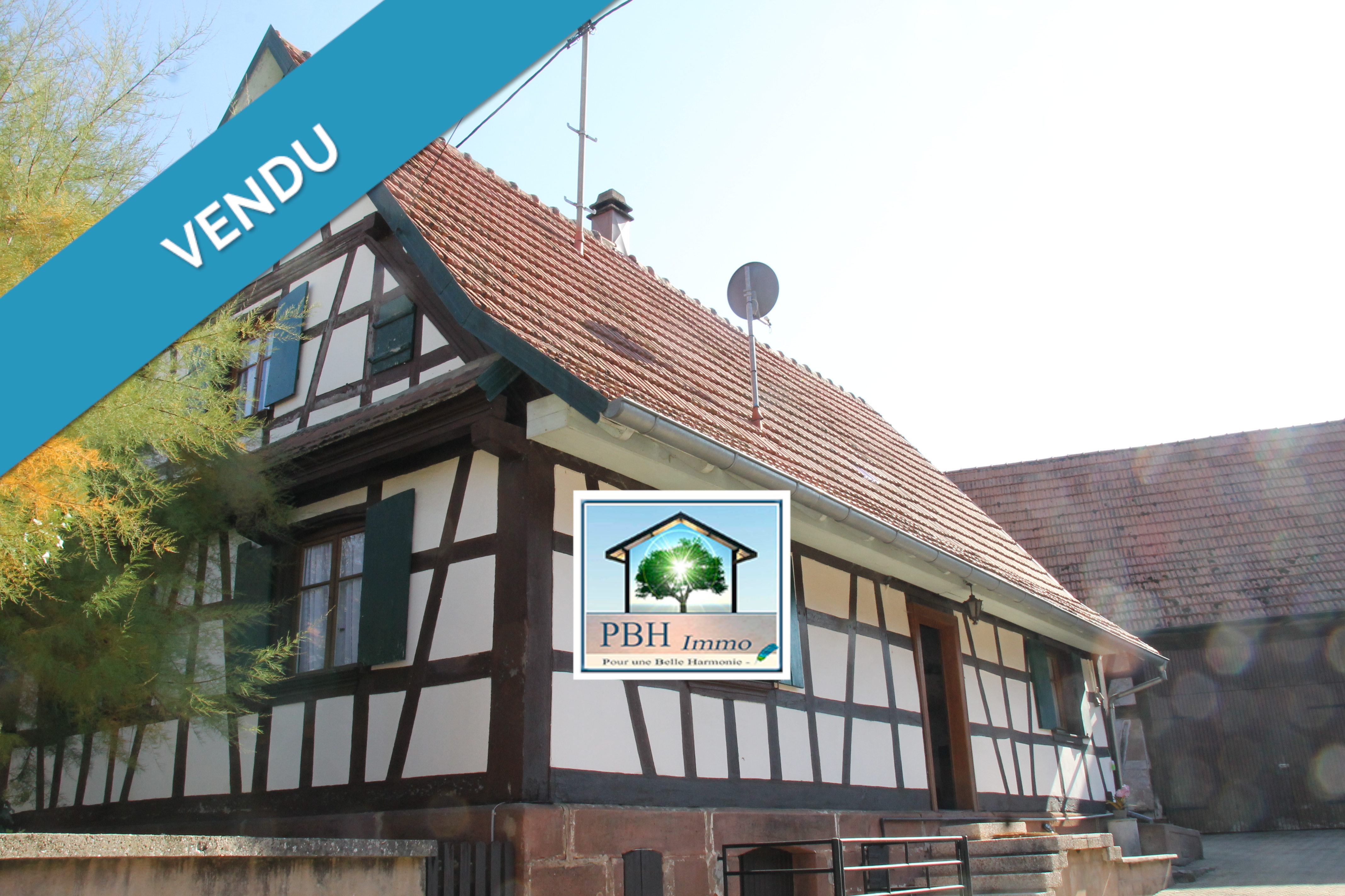 vente maison obermodern zutzendorf 67330 sur le partenaire. Black Bedroom Furniture Sets. Home Design Ideas